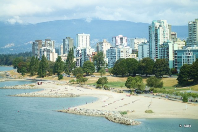 English Bay, Vancouver (photo by K.Sark)