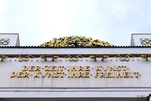 Vienna Secession (photo by K.Sark)