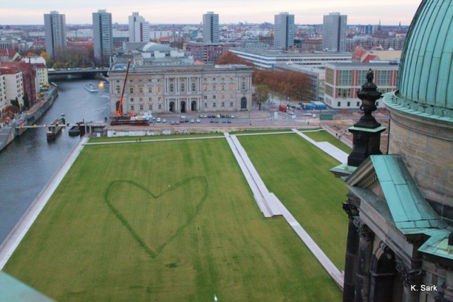 View from the Dome on former Palace of the Republic, Berlin, 2009, photo by K.Sark