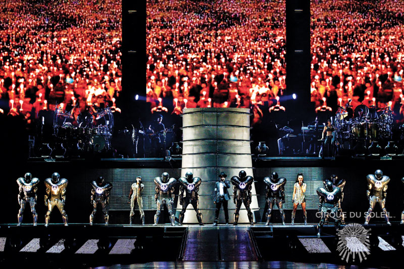 Cirque Du Soleil Michael Jackson Immortal World Tour