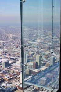 Skydeck, 103rd floor of the Willis Tower (photo by K.Sark)