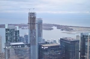 View from Canow on the 54th Floor (photo by K.Sark)