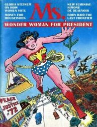 Ms Magazine Cover - Wonder Woman