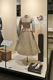 Civil marriage dress (photo by Marilyn Aitken, McCord Museum)