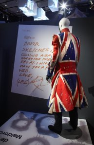 Union Jack Coat by Alexander McQueen (photo by AGO)
