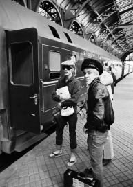 Bowie and Iggy in Berlin