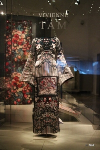 Vivienne Tam at the ROM (photo by K.Sark)