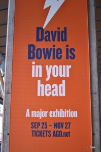 Bowie exhibit at the AGO (photo by K.Sark)