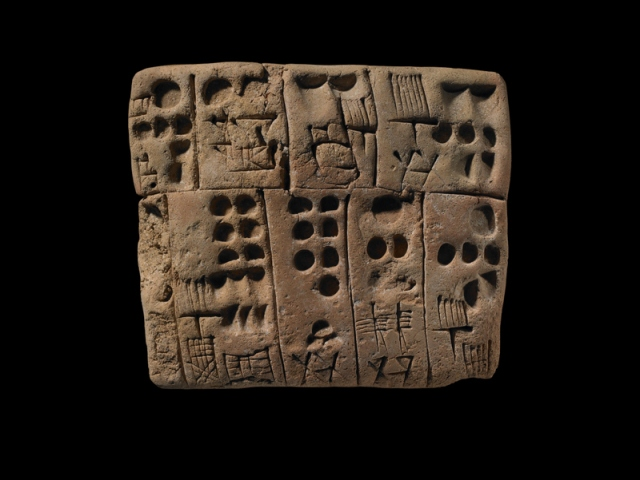 Clay Tablet, Sumer, photo by ROM 2013