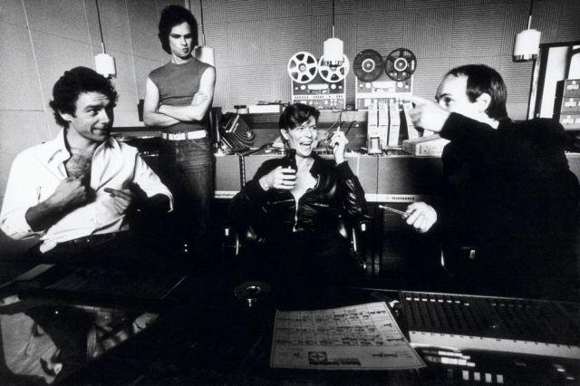 David Bowie at Hansa Tonstudio