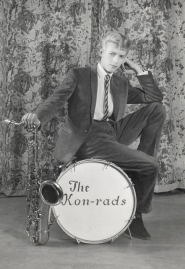 Publicity photograph for The Kon-rads, 1966.  Photograph by Roy Ainsworth Courtesy of The David Bowie Archive Image © Victoria and Albert Museum
