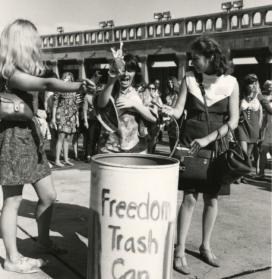 Freedom Trash Can