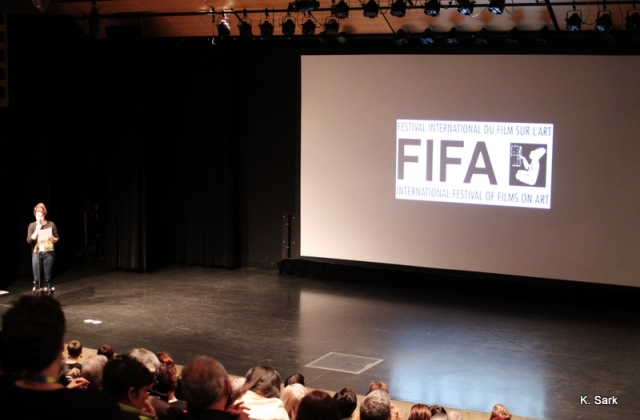 "FIFA Screening of ""Google and the World Brain"" (photo by K.Sark)"