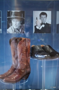 James Bond's shoes at the Bata Shoe Museum (photo by K.Sark)