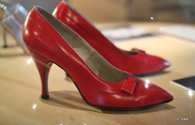 Marilyn Monroe's at the Bata Shoe Museum (photo by K.Sark)