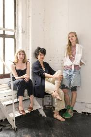 Women in Clothes authors, Sheila Heti, Heidi Julavits, Leanne Shapton