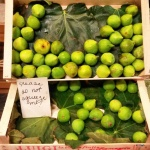 Green figs at Mercato Centrale (photo by K.Sark)