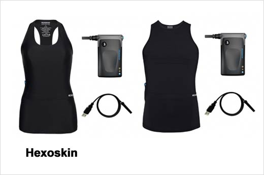 Hexoskin male and female shirts