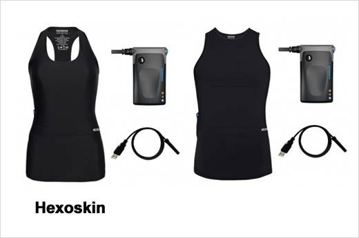 Hexoskin male and female shirts