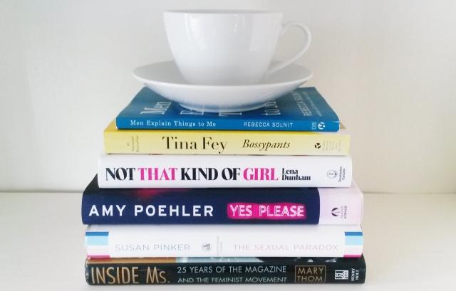 Feminist Bookshelf (photo by K.Sark)