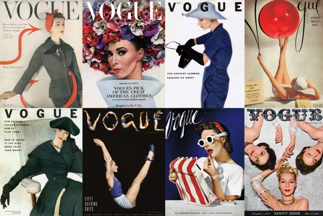 Vogue Covers by Horst