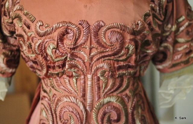 Emily Floege's dress from Vienna, Claus Jahnke Collection