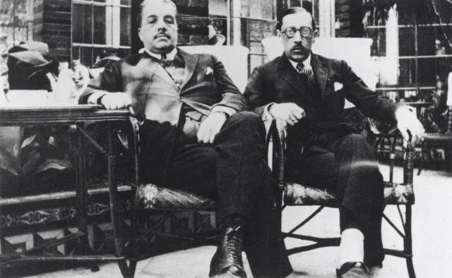 Diaghilev and Stravinsky, Spain 1921