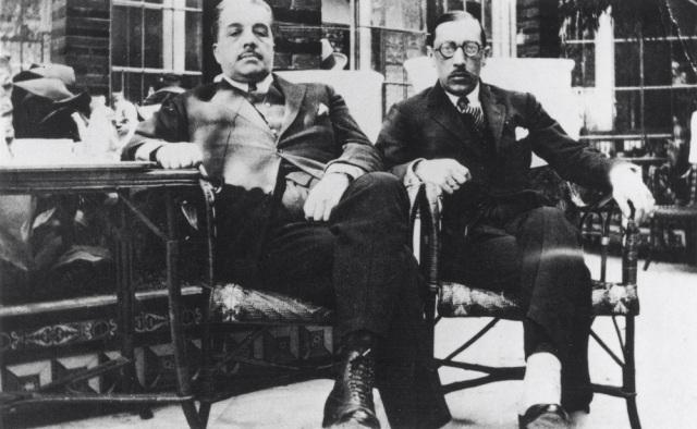 Diaghilev and Stravinsky, Spain 1921