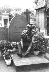 Nijinsky's grave in Paris