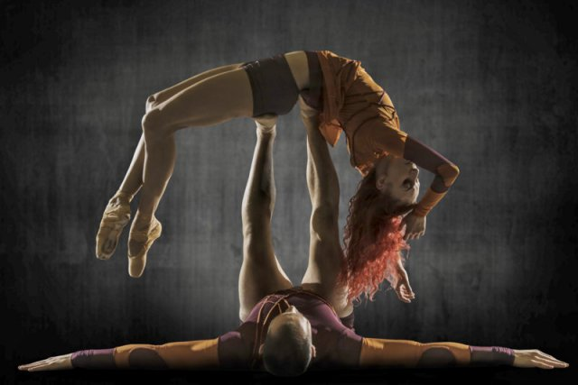 Photo Alan Kohl, dancers Céline Cassone and Mark Francis Caserta