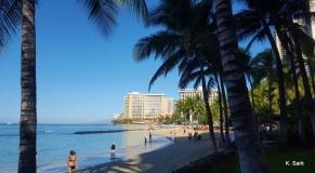 Waikiki, photo K.Sark