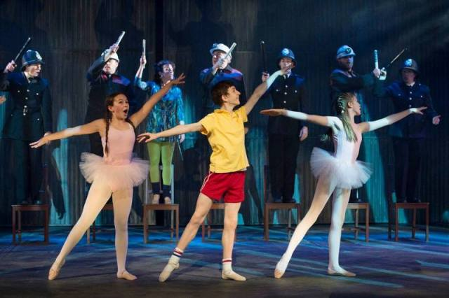 Billy Elliot, photo by David Cooper